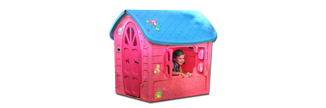 Rózsaszín játékház